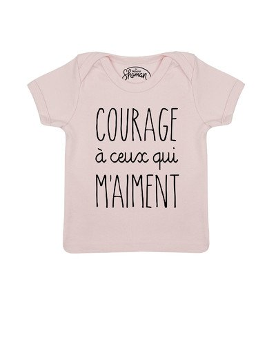 Tee shirt A Courage