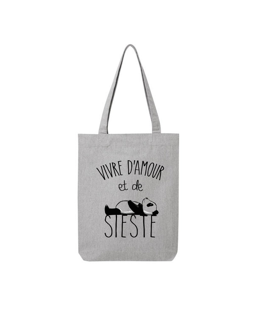 "Tote Bag ""Amour et Sieste"""