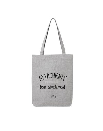 "Tote Bag ""Attachiante"""