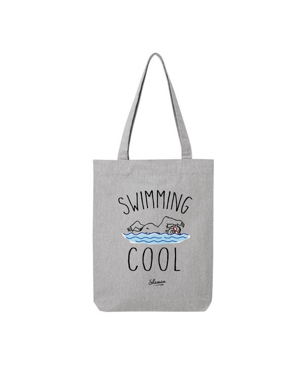 "Tote Bag ""Swimming cool"""