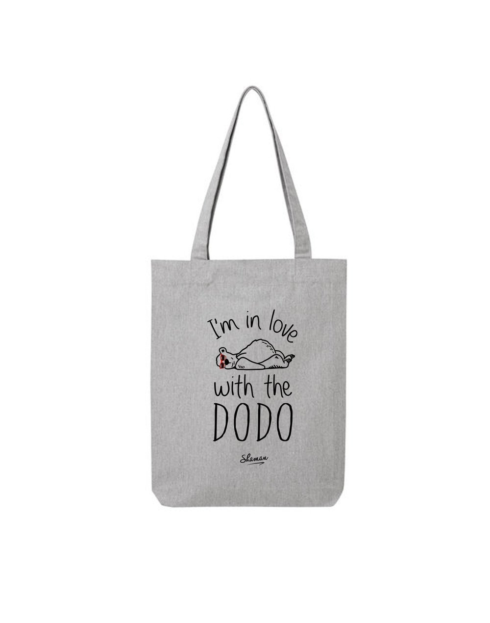 "Tote Bag ""I'm in love with the dodo"""
