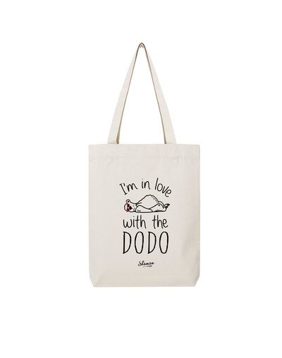 """Tote Bag """"I'm in love with the dodo"""""""