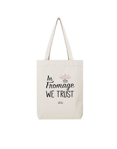 """Tote Bag """"Fromage trust"""""""