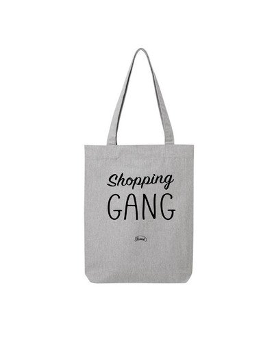 "Tote Bag ""Shopping gang"""
