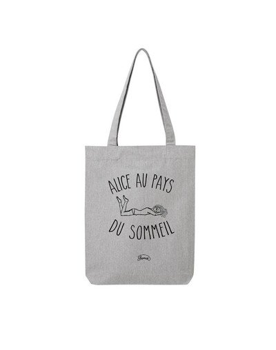 """Tote Bag """"Alice sommeil"""""""