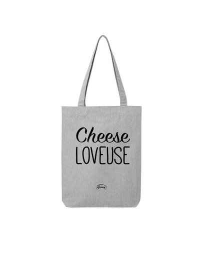 "Tote Bag ""Cheese loveuse"""