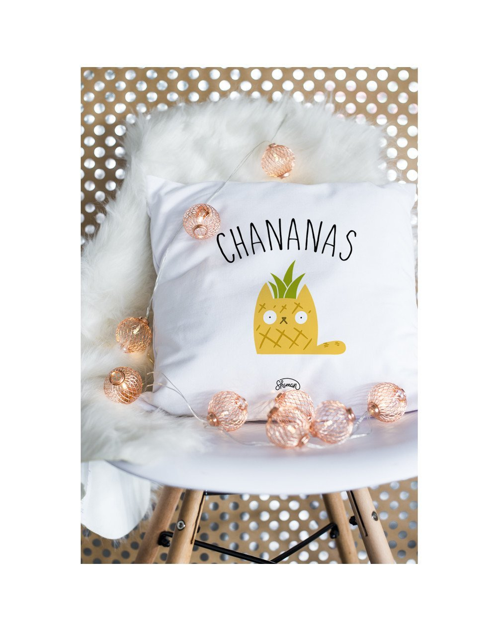 "Coussin ""Chananas"""