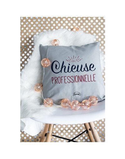 "Coussin ""Chieuse pro"""