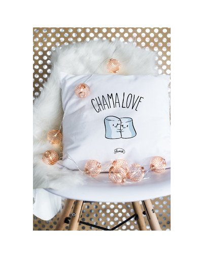 "Coussin ""chamallove"""