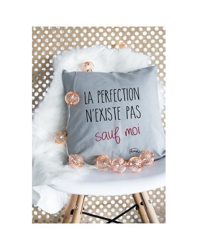 "Coussin ""perfection"""