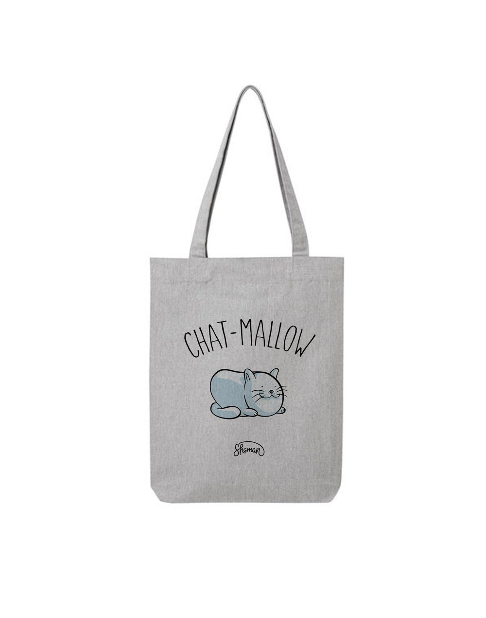 "Tote Bag ""Chat mallow"""