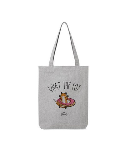 """Tote Bag """"What the fox"""""""
