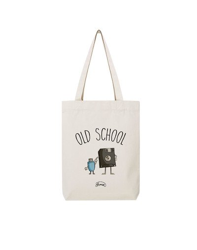 "Tote Bag ""Old school"""