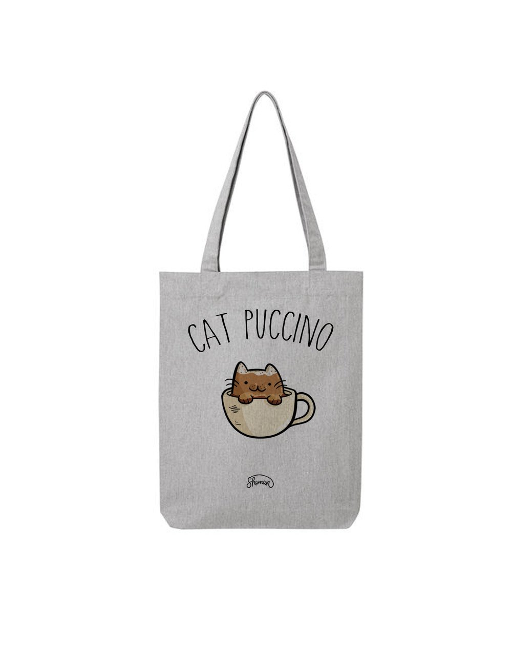 "Tote Bag ""Cat puccino"""