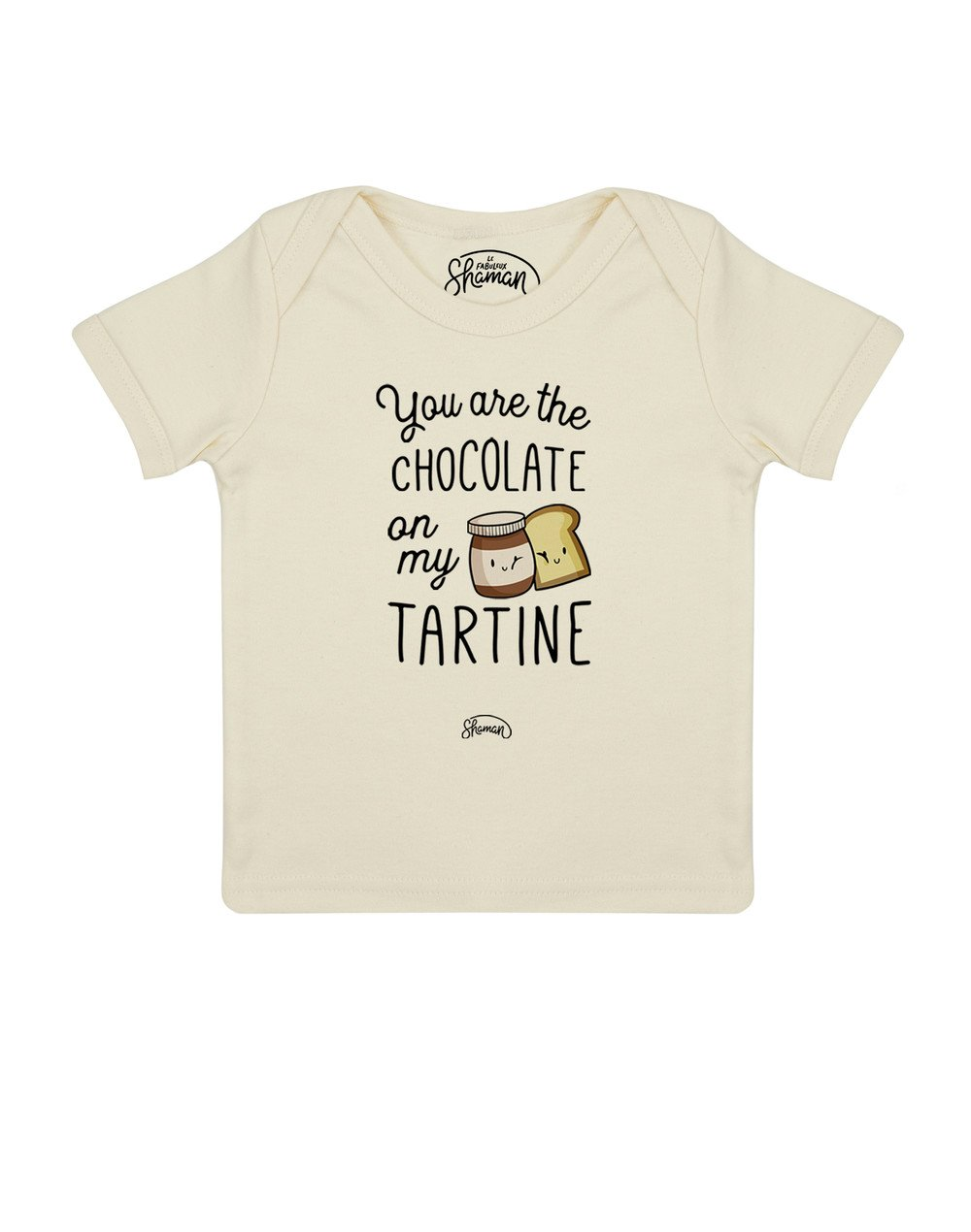 Tee shirt Chocolate tartine