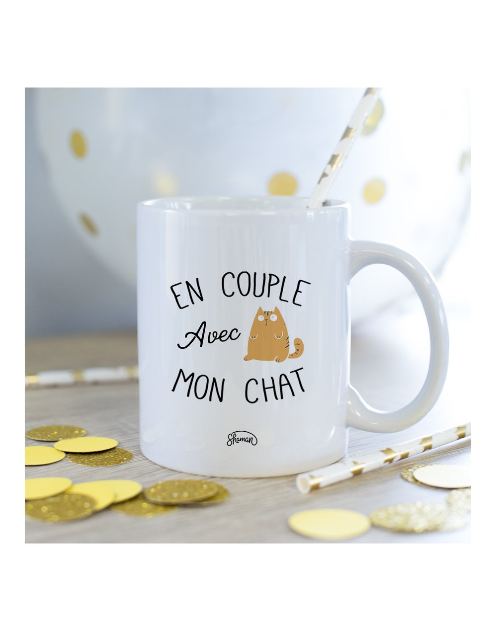 Mug Couple chat
