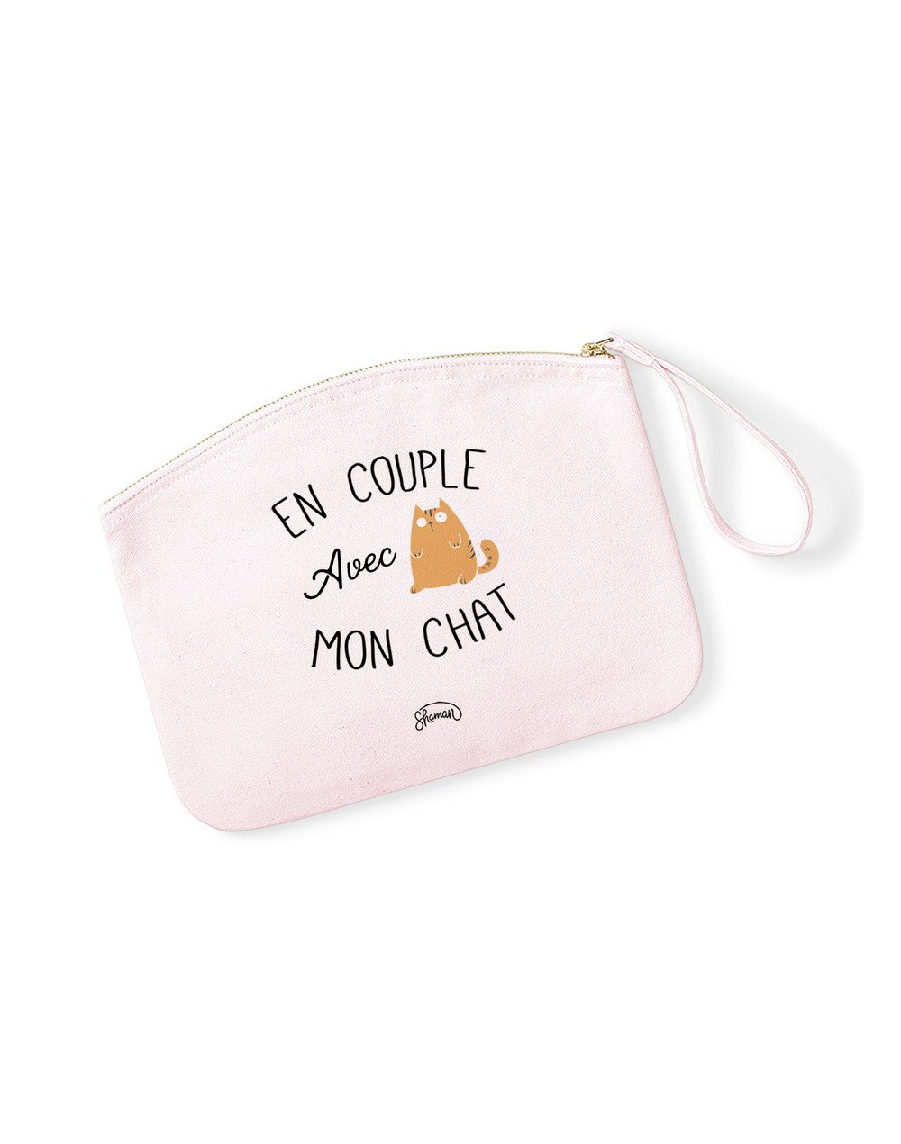 "Pochette ""Couple chat"""