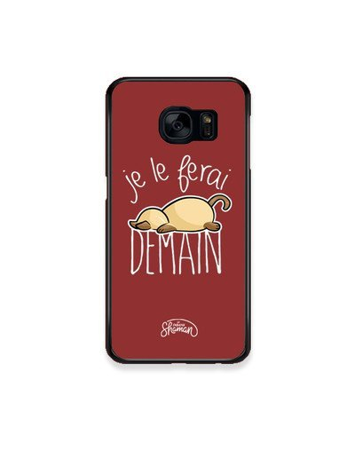 "Coque ""demain chat"""