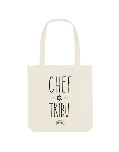 "Tote Bag ""Chef de tribu"""