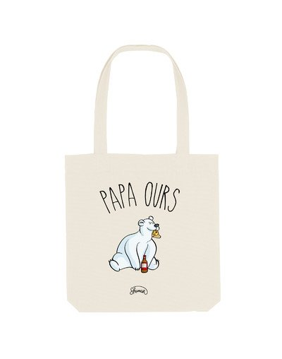 "Tote Bag ""papa ours"""