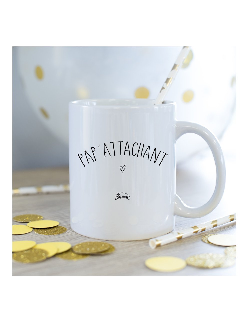 Mug papa'attachant