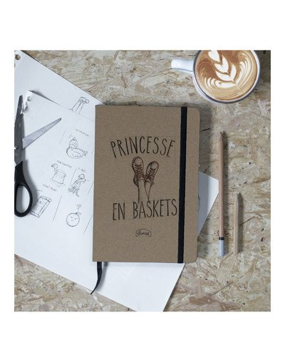 Carnet Princesse en baskets