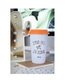 "Mugs Take Away ""J'peux pas licorne"""