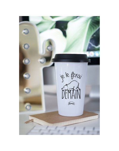 "Mugs Take Away ""Je le ferai demain"""