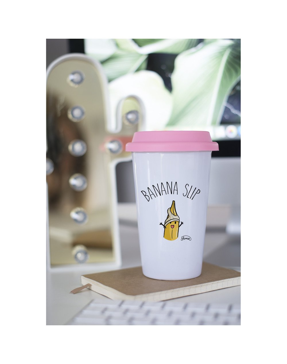"Mugs Take Away ""Banana slip"""