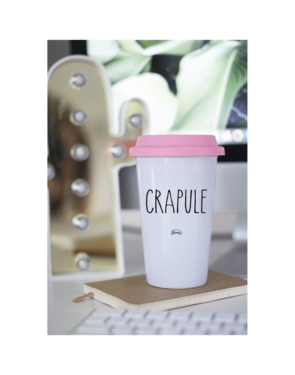 "Mugs Take Away ""Crapule"""