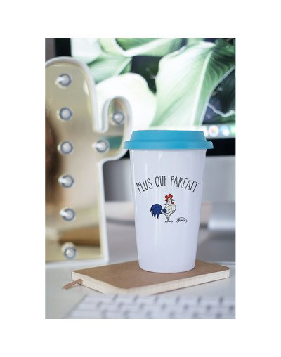 "Mugs Take Away ""Plus que parfait"""