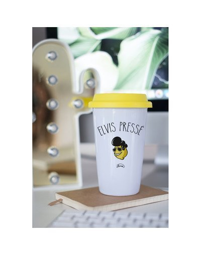 "Mugs Take Away ""Elvis pressé"""