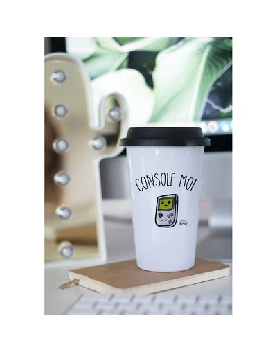 "Mugs Take Away ""Console moi"""