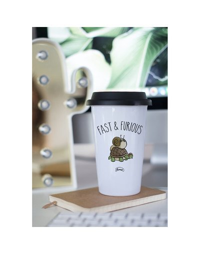 "Mugs Take Away ""Fast escargot"""