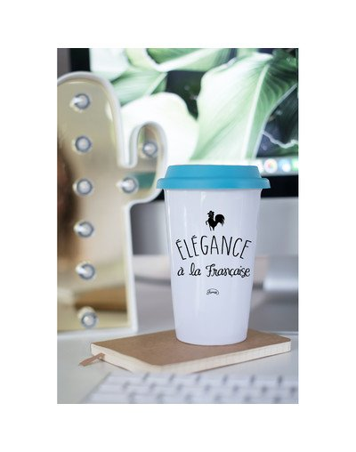 "Mugs Take Away ""Elegance fr"""