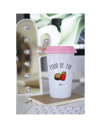"Mugs Take Away ""Food de toi"""