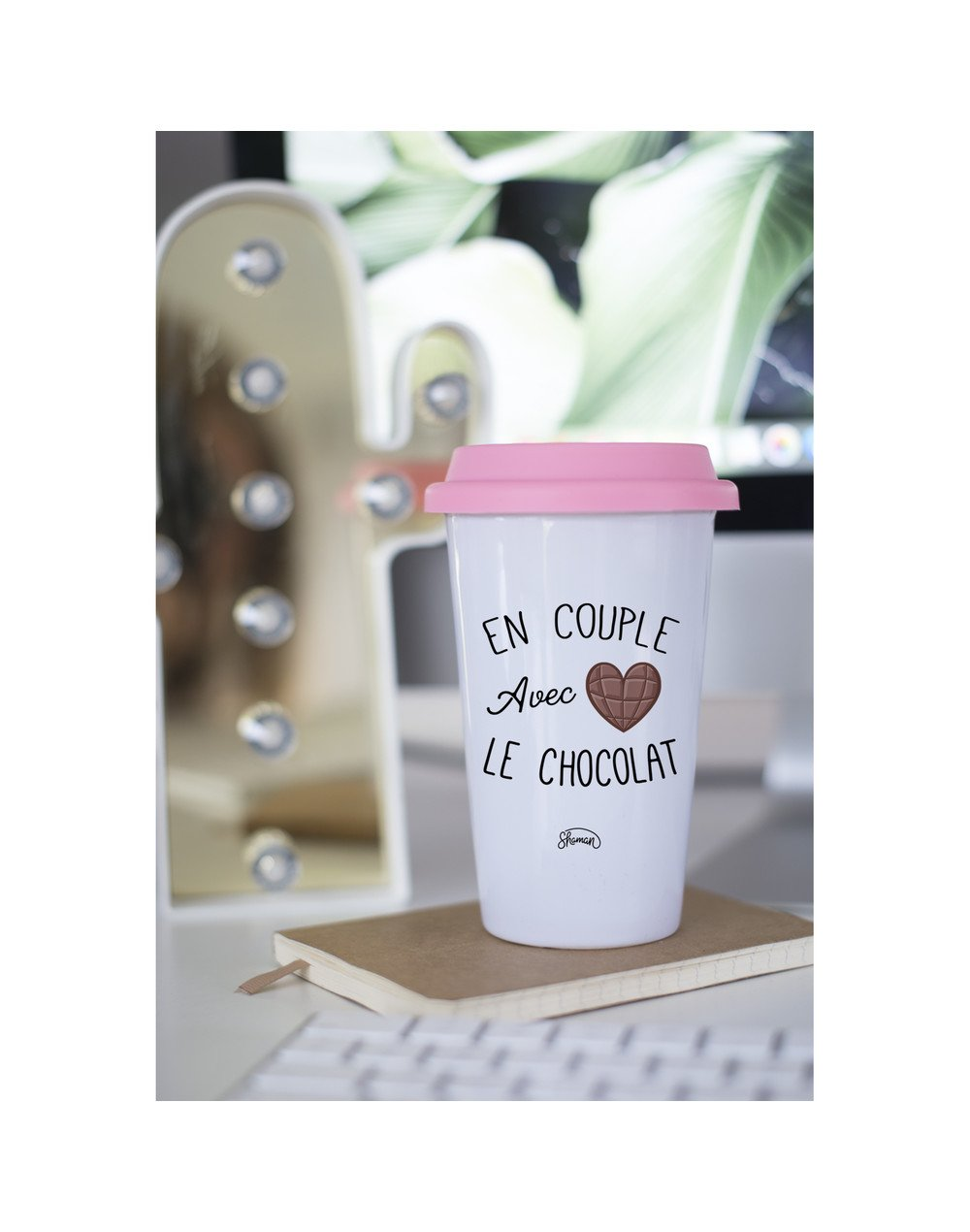 "Mugs Take Away ""Couple chocolat"""