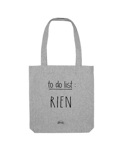 "Tote Bag ""To do list"""