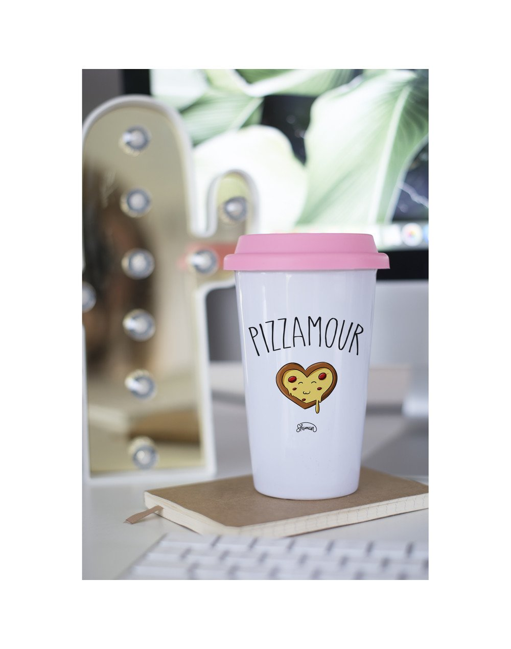 "Mugs Take Away ""Pizzamour"""