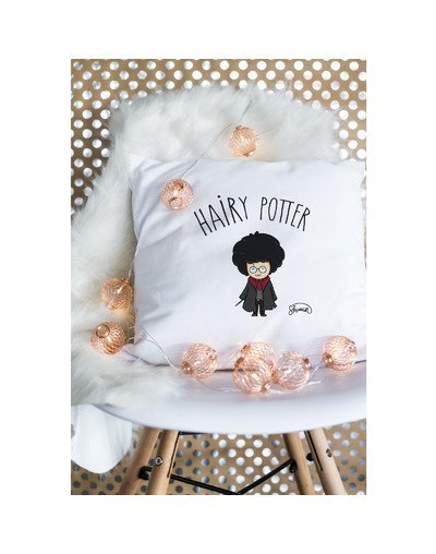 "Coussin ""Hairy potter"""