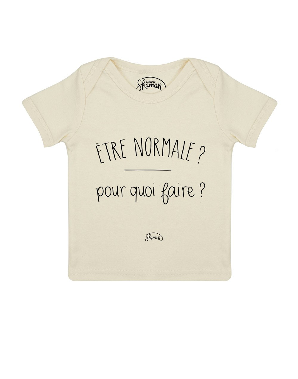 Tee shirt Normale pourquoi