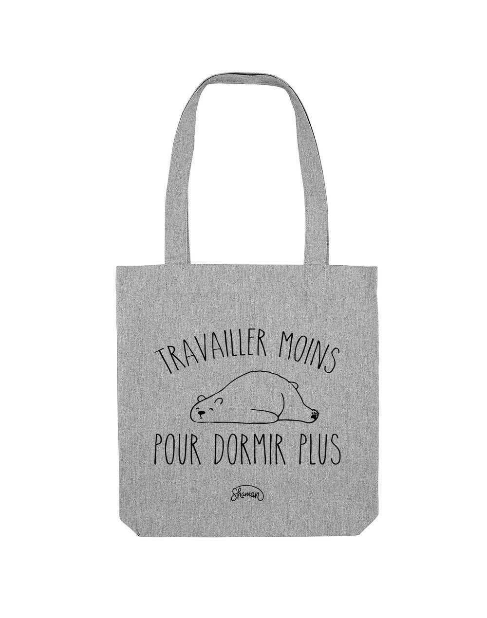 """Tote Bag """"Travailler moins"""""""