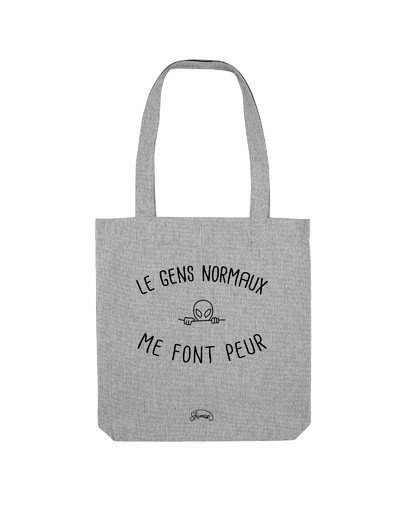 "Tote Bag ""Les gens normaux"""