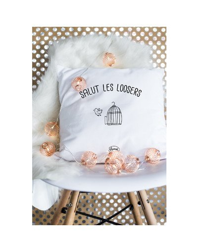 "Coussin ""Les loosers"""