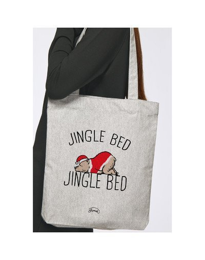 "Tote Bag ""Jingle bed"""