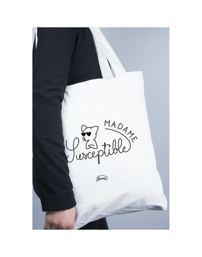 "Tote Bag ""Madame susceptible"""