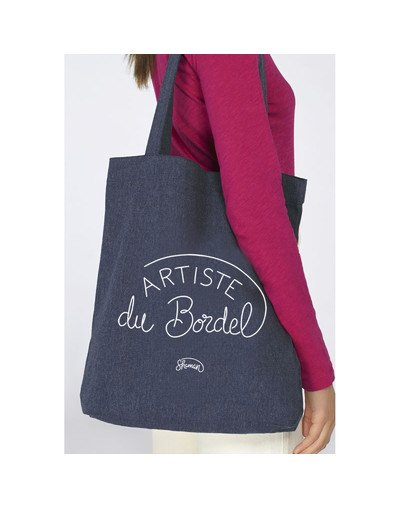 "Tote Bag ""Artiste du bordel"""