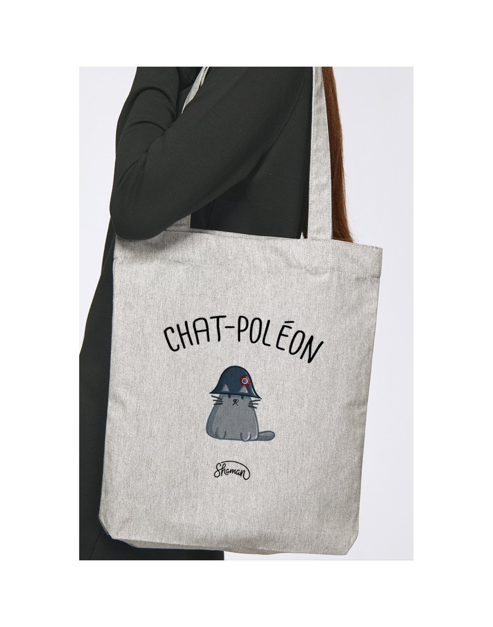 "Tote Bag ""Chat-Poléon"""