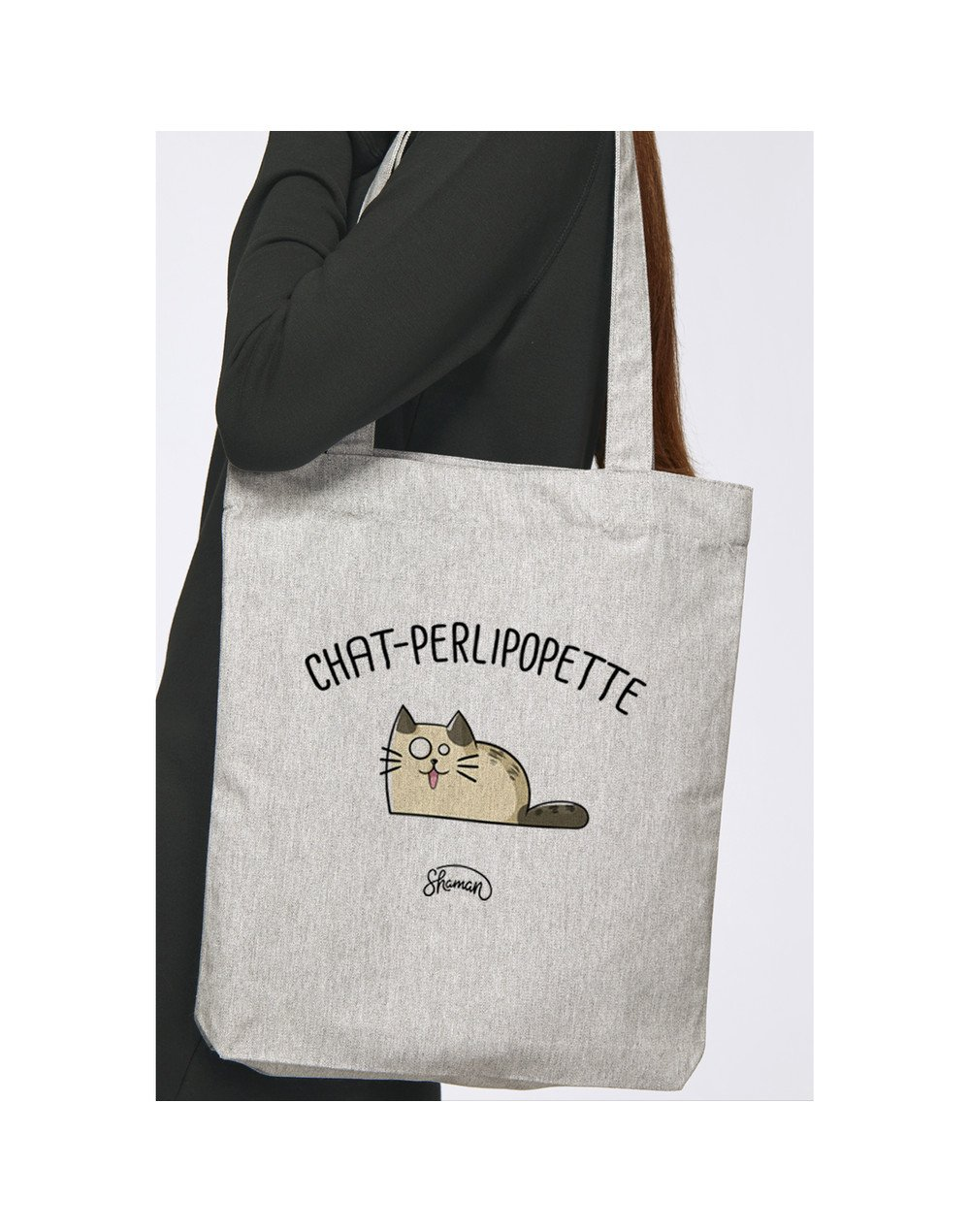 "Tote Bag ""Chat-perlipopette"""