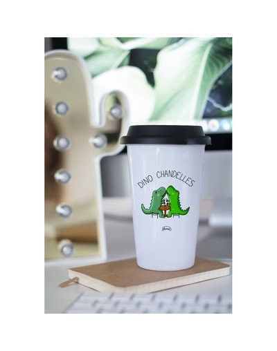 "Mugs Take away ""Dino chandelle"""